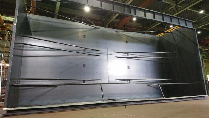 全長15m大型集塵器