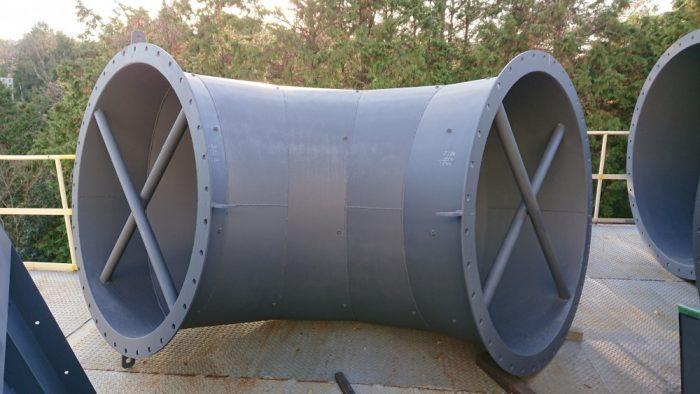 15m 集塵器 ダクト